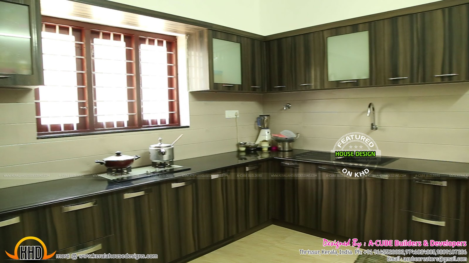 New house plans for 2016 starts here kerala home design for Kitchen design kerala