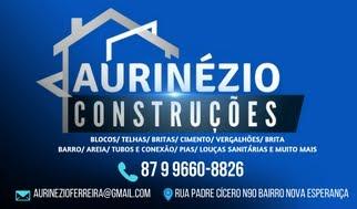 AURINÉZIO CONSTRUÇÕES