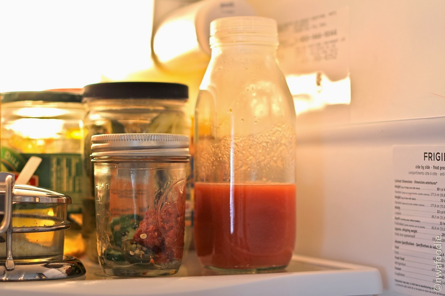 make your own hot sauce with Nutribullet blender strainer (c)nwafoodie