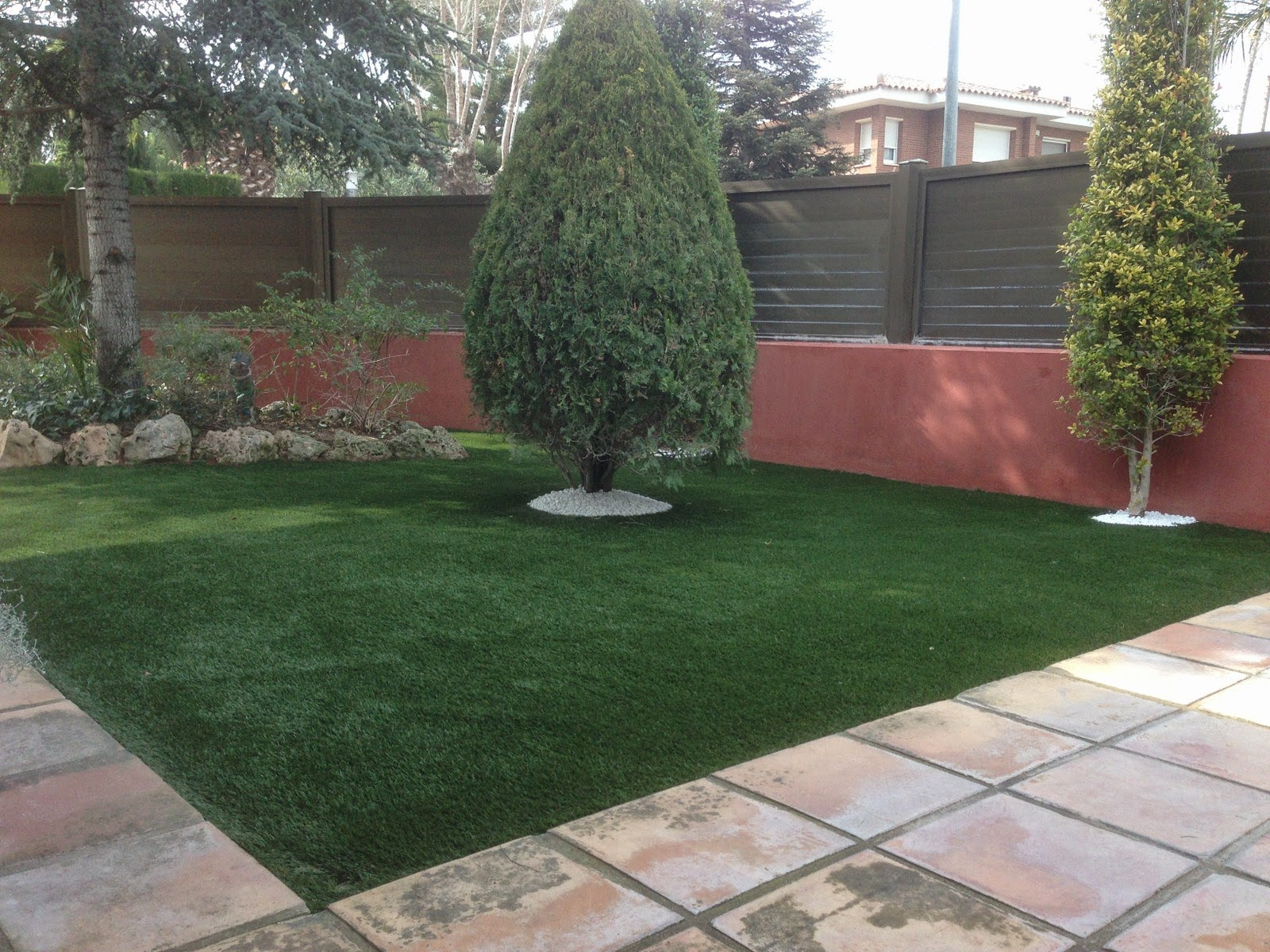 Cesped artificial para jardin confort grass csped - Cesped artificial jardin ...