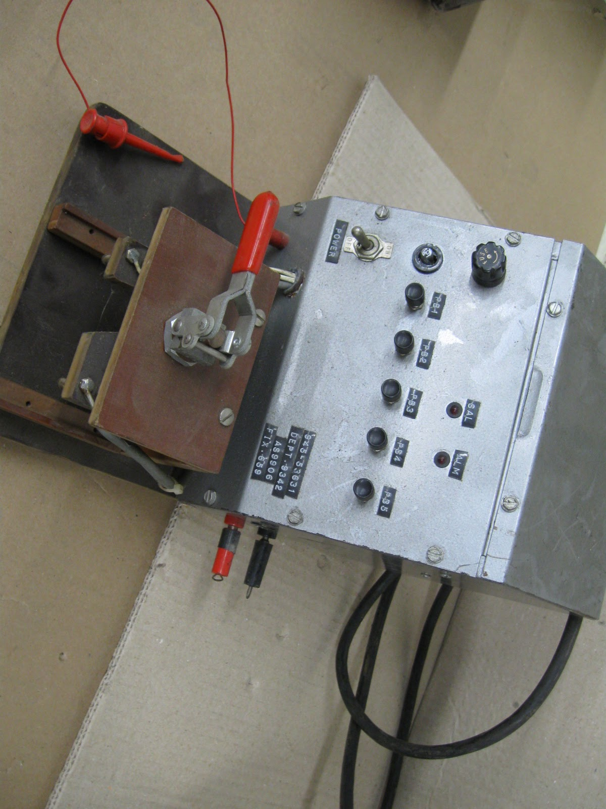 Electrical Test Equipment : Gwz surplus geewhiz what a deal vintage electrical