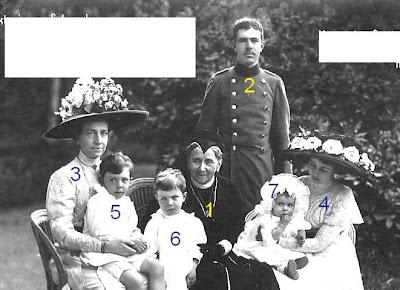 Luise Großherzogin von Baden Viktoria von Baden Gustav VI. Adolf  Margaret von Connaught Gustav Adolf von Schweden Sigvard Bernadotte Ingrid von Schweden