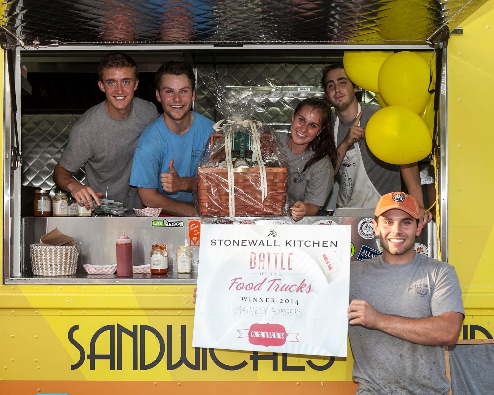 stonewall kitchen 2014 battle of the food trucks