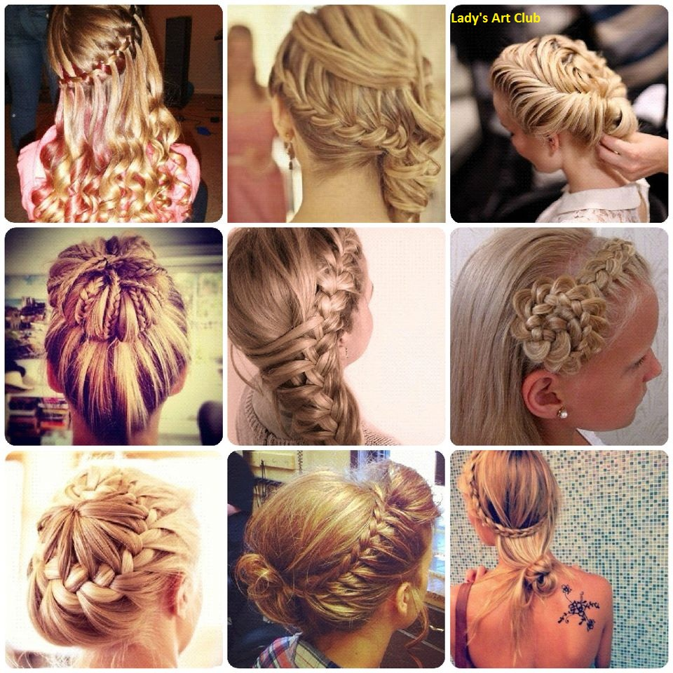 Lady39s Art Club Here Some Designs Of Gorgeous Hairstyle For Party