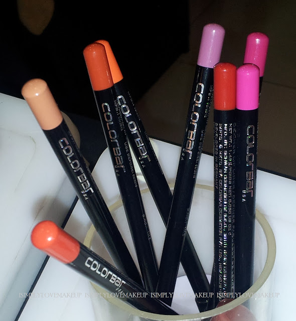 Colorbar Definer Lip Liner Swatches