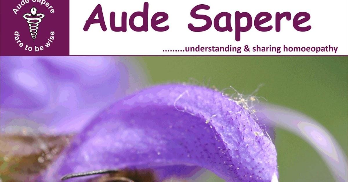 Aude Sapere Homoeo Academy Aude Sapere Bi Monthly