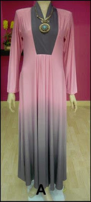 JUBAH PRINCESS CUT LYCRA