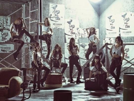 Girls Generation comeback Catch Me If You Can Girls Generation Catch Me If You Can Girls Generation comeback Taeyeon Sunny Tiffany Hyoyeon Yuri Sooyoung Yoona Seohyun