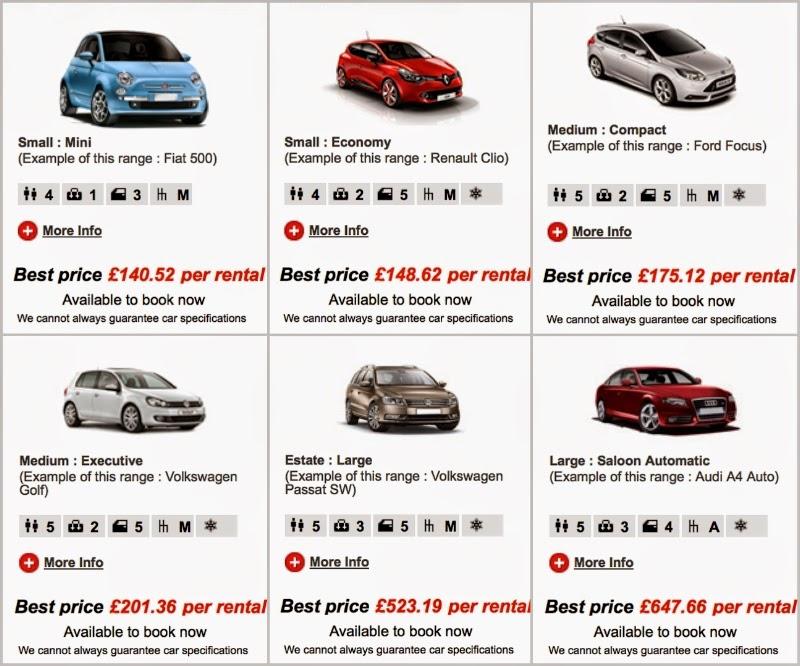 Avis Car Rental Full Size