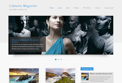Calenotis Magazine Wordpress Theme