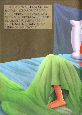 Sansão e Dalila - história colorida