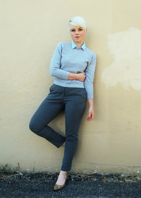 how to style, fall fashion, what i wore, sport luxe, pixie cut, seattle street style