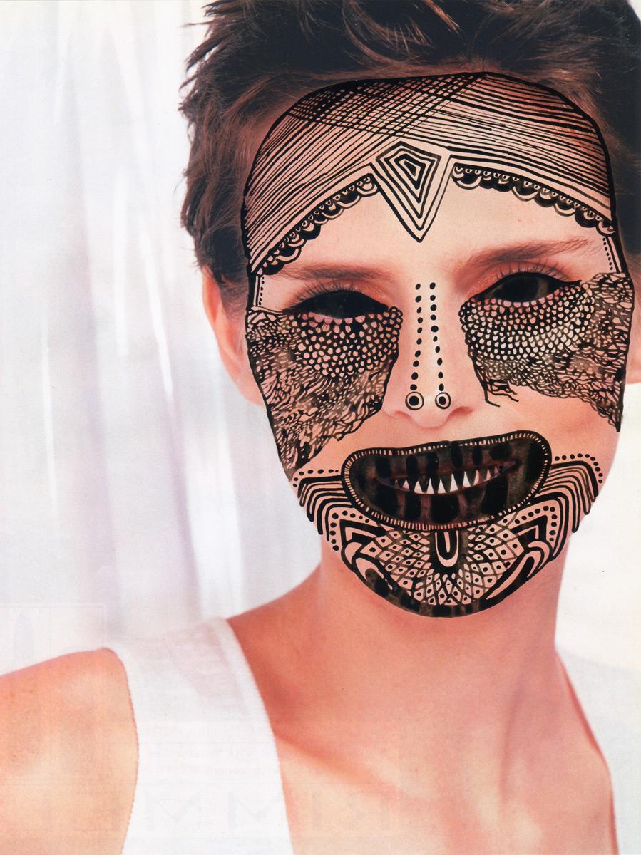 if it u0026 39 s hip  it u0026 39 s here  archives   voodoo queens  facial masks doodled by illustrator nina