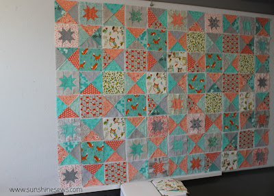 Battlefield Quilt in Modern Fabric