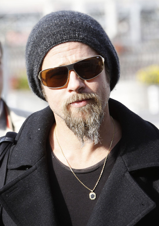 Latest Hollywood Hottest Wallpapers: Brad Pitt Beard 2010