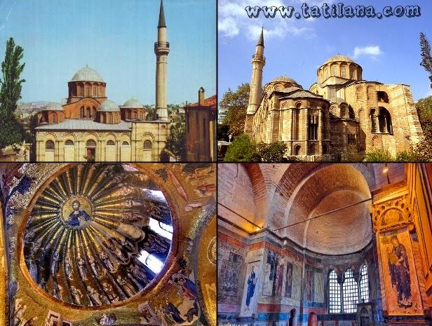 Kariye Müzesi Edirnekapı İstanbul