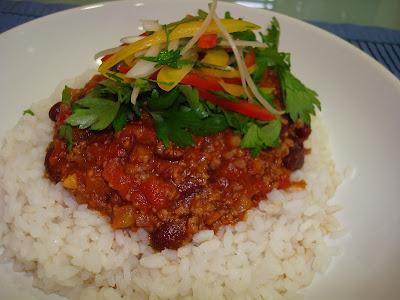 Guiso de chile con carne
