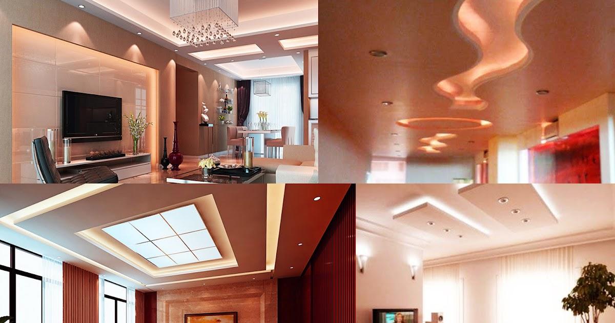 Dise o de plafones iluminaci n en techos de tablaroca dise o y decoraci n de interiores - Plafones para salon ...