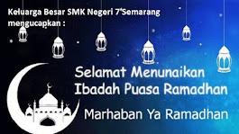 Ramadhan 1439 H :