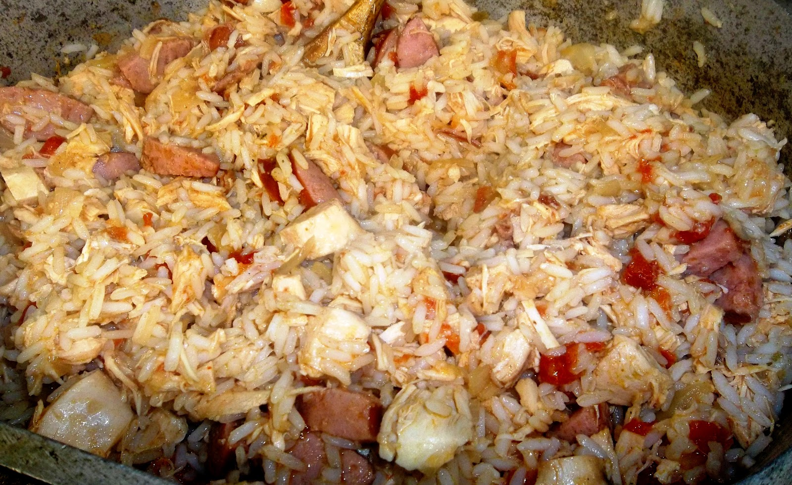 It's All About a Good Recipe: Chicken and Sausage Jambalaya