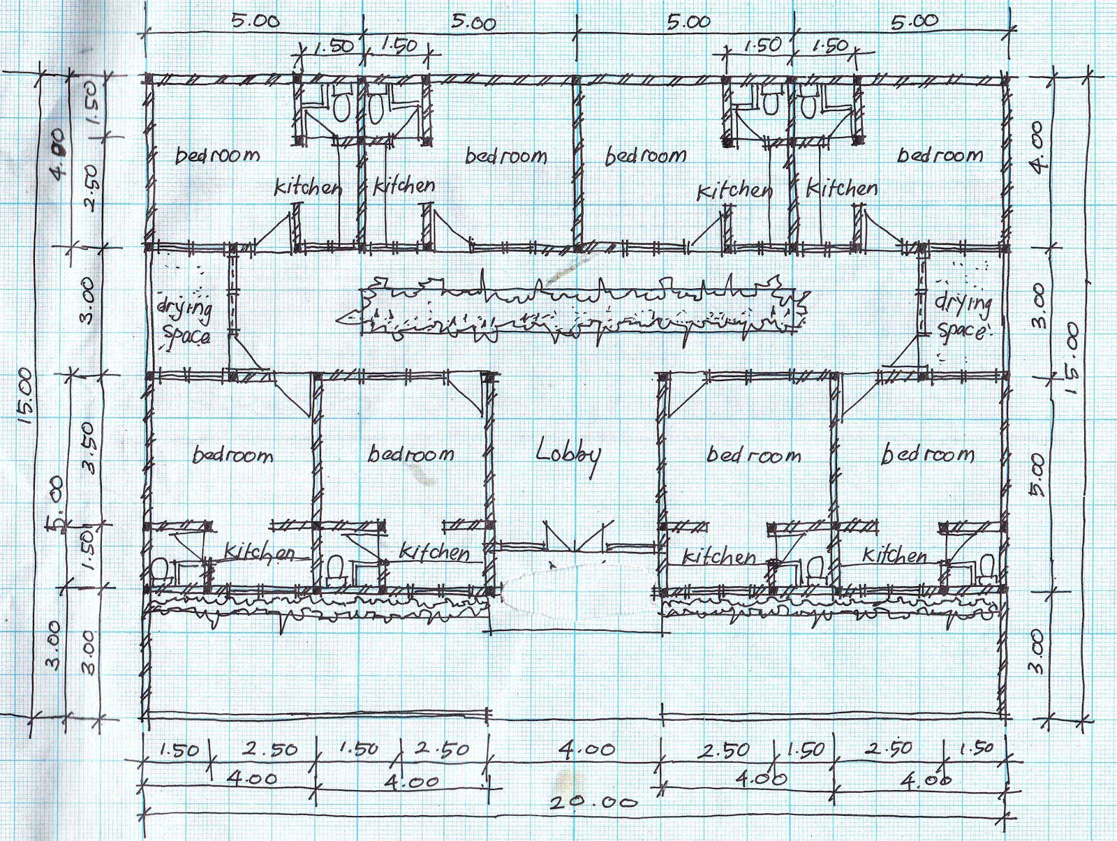 Boarding house plans for House blueprints