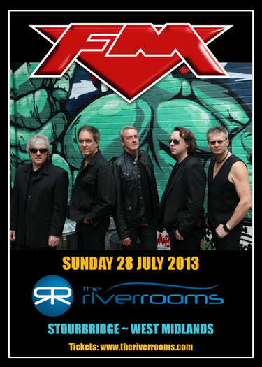 FM at The River Rooms Stourbridge - Sun 28 July 2013