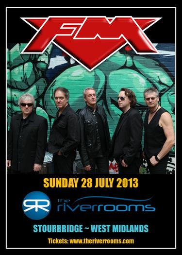 FM at The River Rooms Stourbridge - Sun 28 July 2013