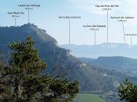 Continuen les vistes sobre Cabrera i la Serra dels Llancers