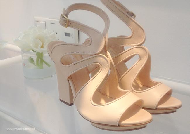 H&M Conscious Exclusive beige heels