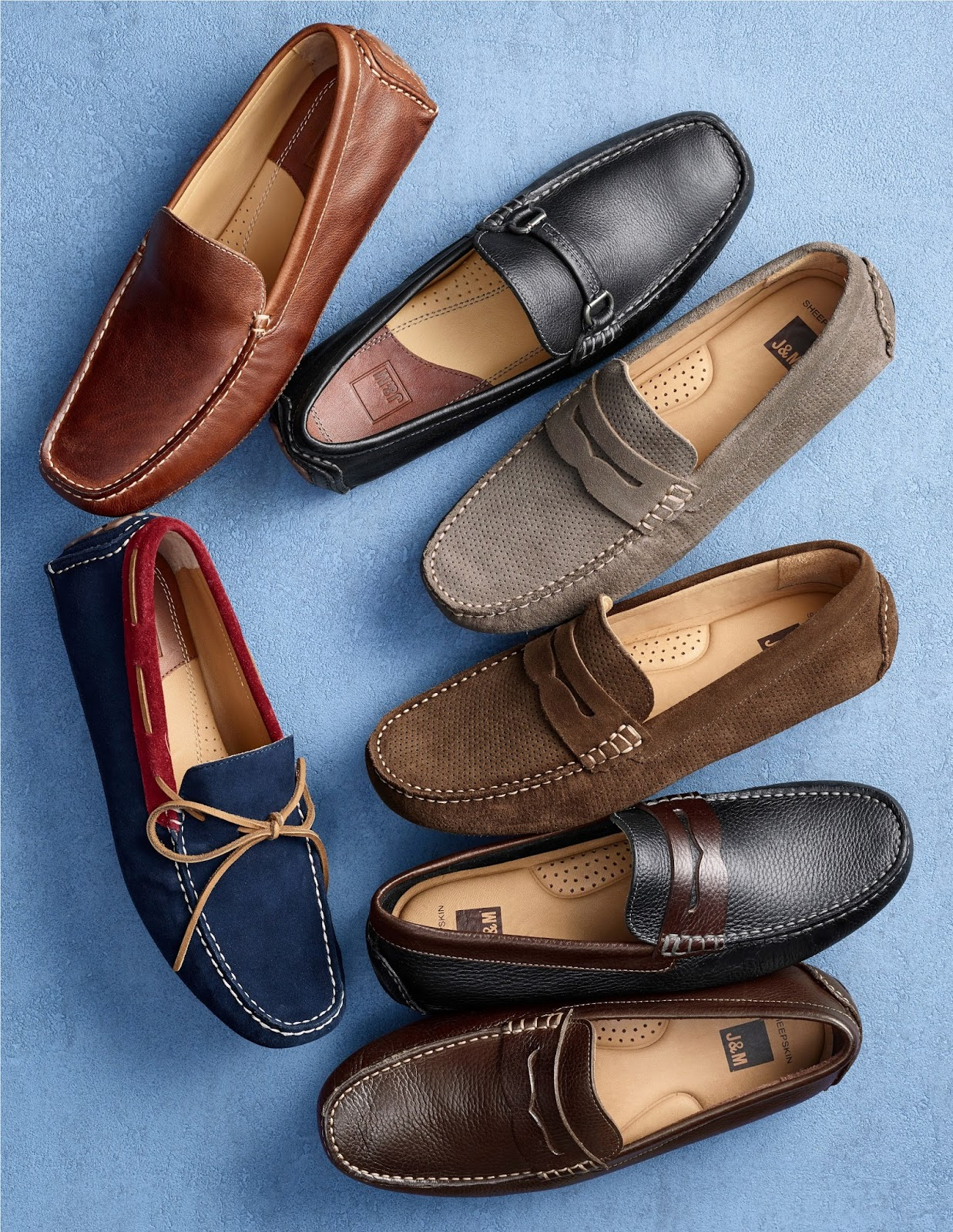 MENS FASHION  Johnston   Murphy unveils Its Suede Collection ... 5682be493d703
