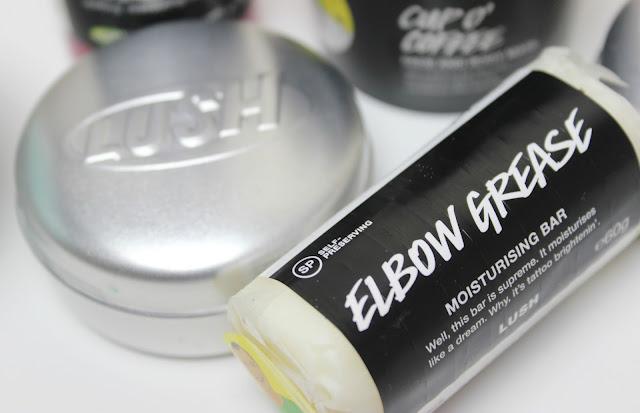A picture of Lush Elbow Grease Moisturising Bar