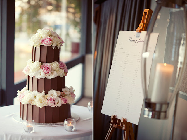 Chocolate Art Wedding cake