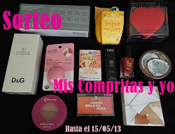 "Sorteo en el blog ""Mis compritas y yo"""