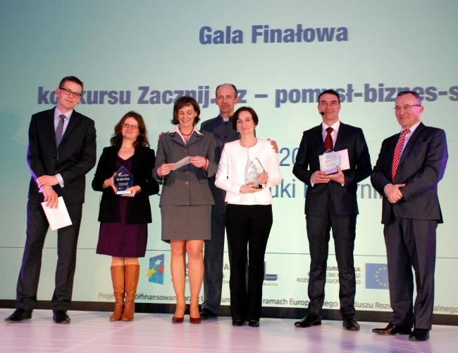 Finaliści konkursu zacznij.biz - fot. www.granty-na-badania.com