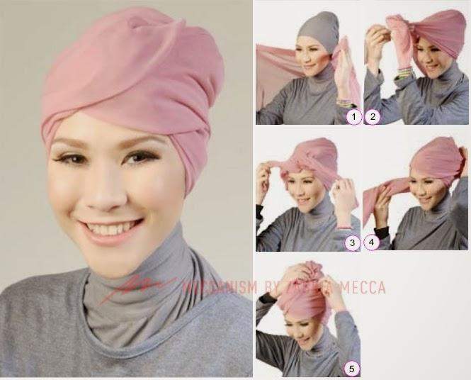 Tutorial Hijab Style on Pinterest | Hijab Tutorial, Hijabs and Hijab ...