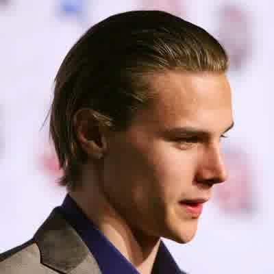 Erik Karlsson slick hair the simplest Hockey Hairstyles 2014