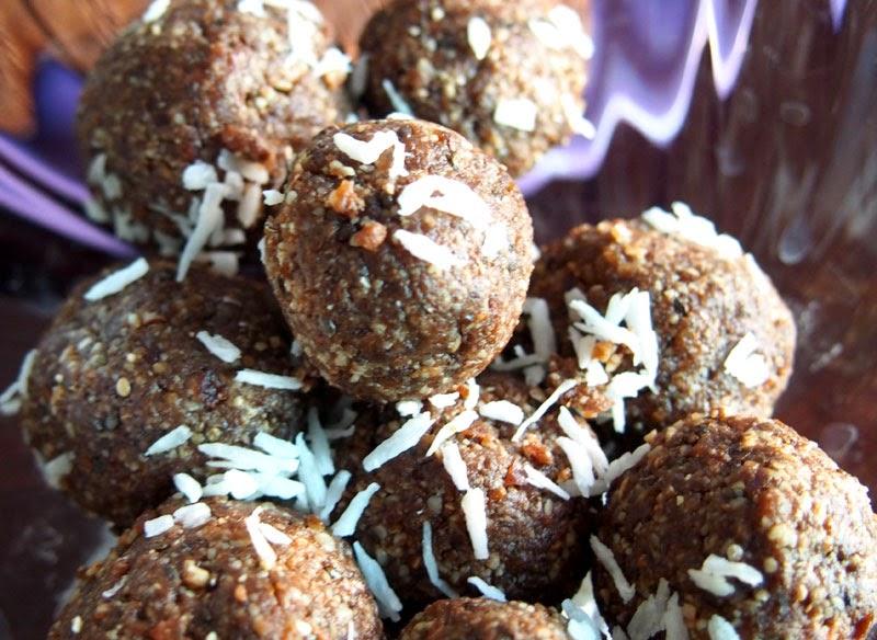 suklaa raakapallot