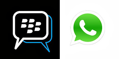 BlackBerry Whatsapp vs BBM Whatsapp