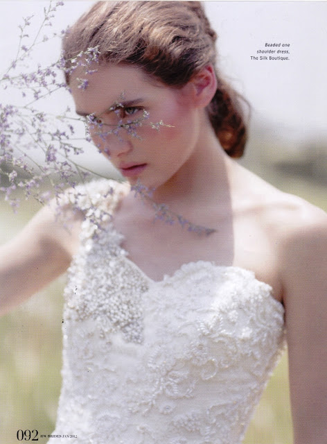 Masha Zakurnaeva for Her World Bride Magazine