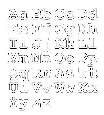 ABC Page Alphabet Coloring Letters