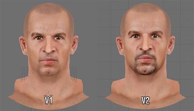 NBA 2K13 Jason Kidd Cyberface v1 and v2 Comparison