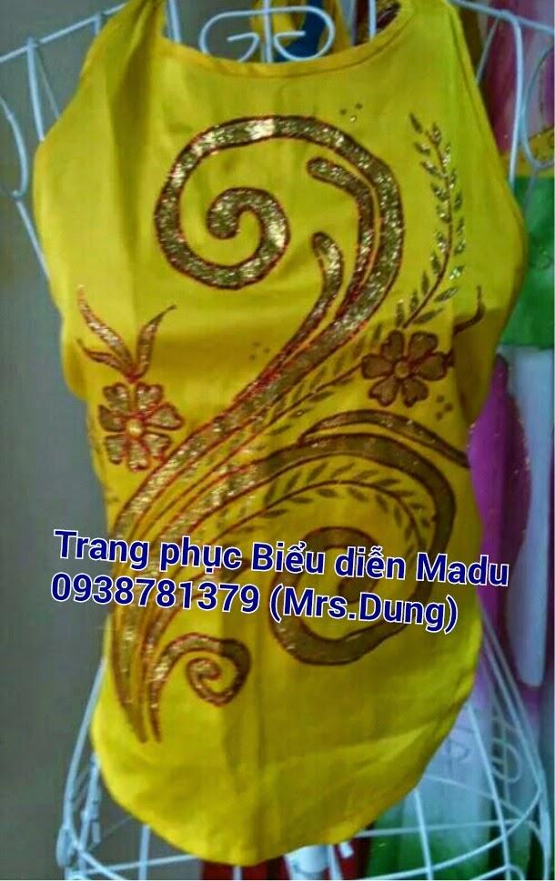 Trang phục biểu diễn dân tộc