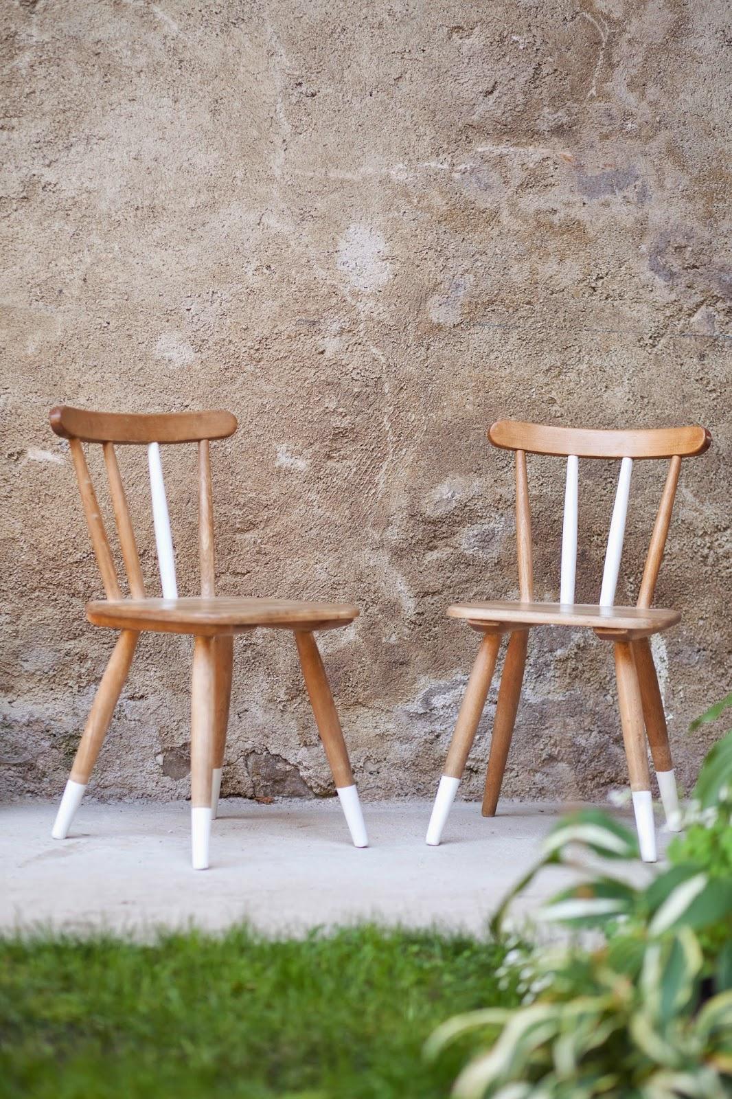 Alte Stühle Dekorieren ruckzuck diy dip dye look für alte stühle wohnprojekt wohnblog