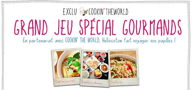 10 cartes cadeaux de 40 euros sur le site Cookin'theworld