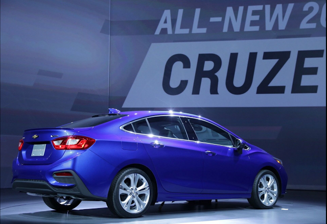 Meet The All-New 2016 Chevy Cruze