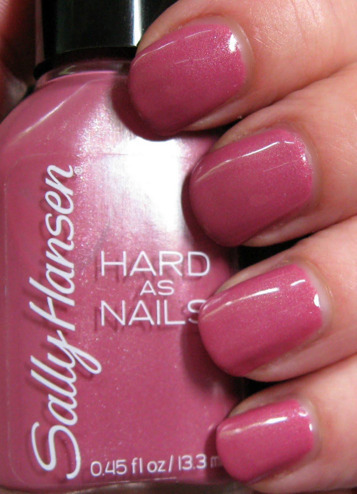 New Sally Hansen Hard as Nails: Rockin\' Hard | Body & Soul