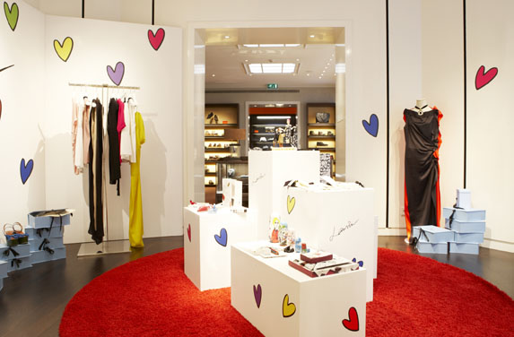 Green Pear Diaries Santa Eulalia Barcelona Lanvin Pop Up Store
