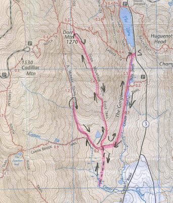 South Mountain Hiking Trails Map