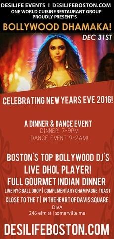bollywood dhamaka new year