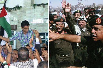 """19 سنة تفصل بين عودة """"ياسر عرفات"""" و """"محمد عساف"""""""